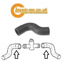 Radiator Hose, Thermoswitch To Manifold  1.5 049121123A Mk1 Golf, Jetta, Scirocco